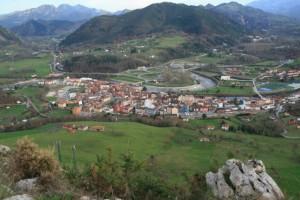 Arriondas desde La Peña Villar